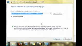 Tutorial Conectar w200 en Windows7