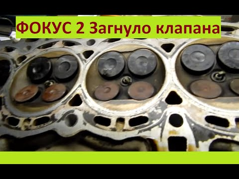 Фокус 2 1.6 Как загибает клапана Сидим в гараже Миша Яковлев