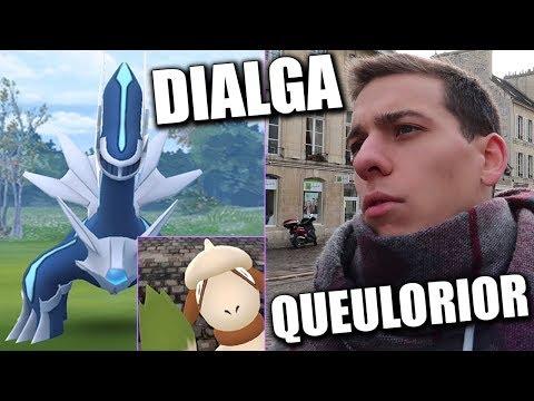 CAPTURE QUEULORIOR ET RAIDS DIALGA - POKÉMON GO thumbnail