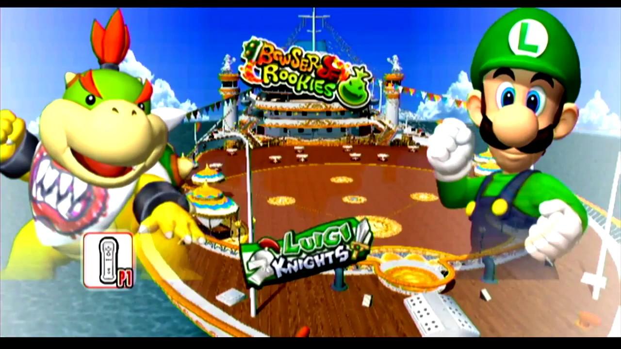 Nintendo Wii U Super Mario Sluggers FUN HOUSE VS FUN MANSION! WHO ...