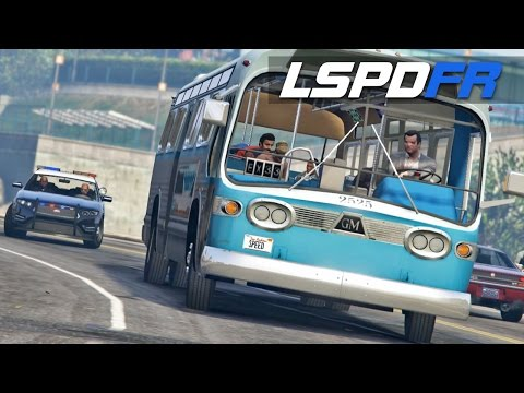 LSPDFR E130 - Speed Bus | Chase Me