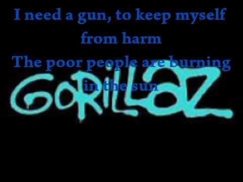 Gorillaz- Dirty Harry lyrics