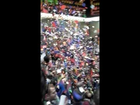2016 New Year Confetti Tradition Floor CME/CBOT