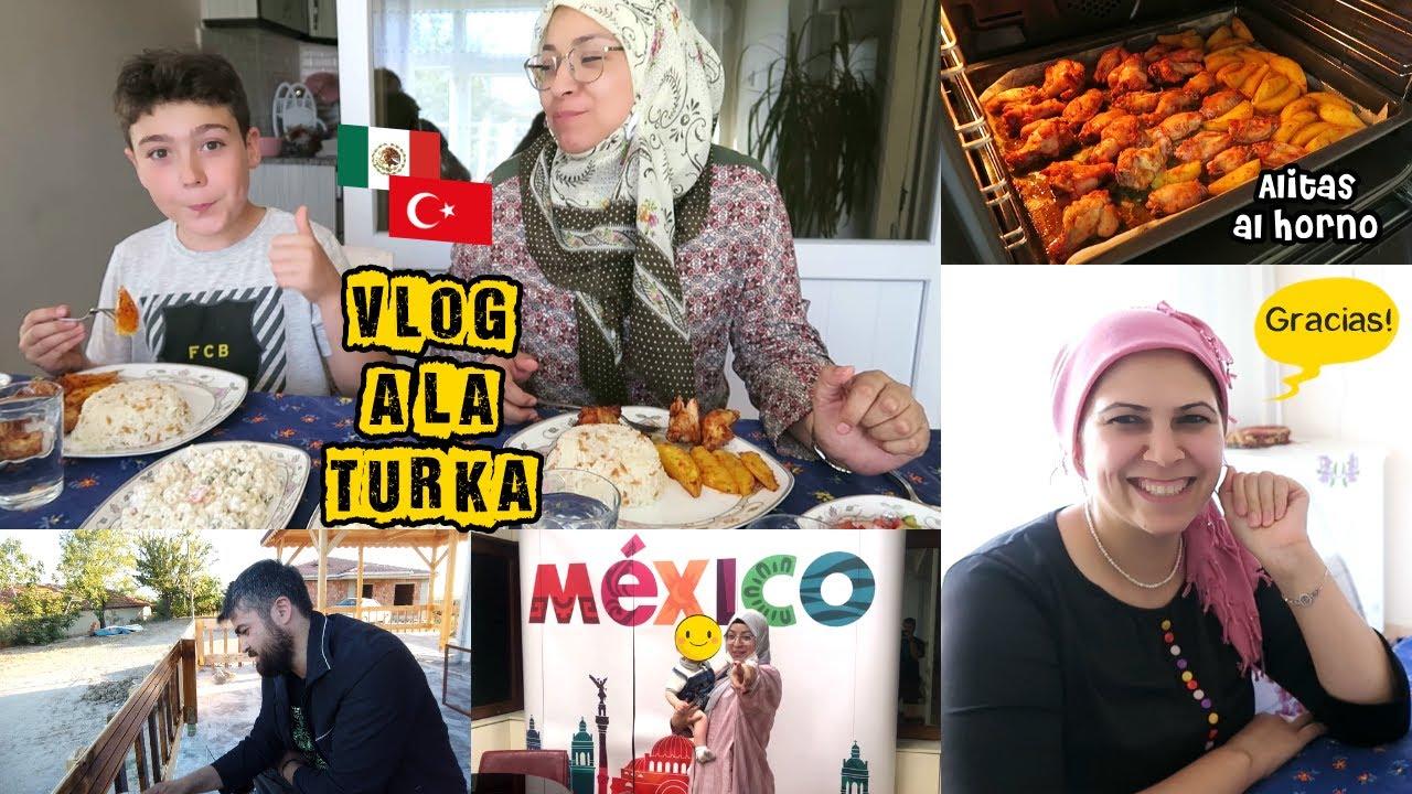 """En La Cocina Con Fatma 🇹🇷 Ya Falta Menos 🏠 + Tenemos """"Compadres"""" 👨👩👦   Mexicana En Turquía"""