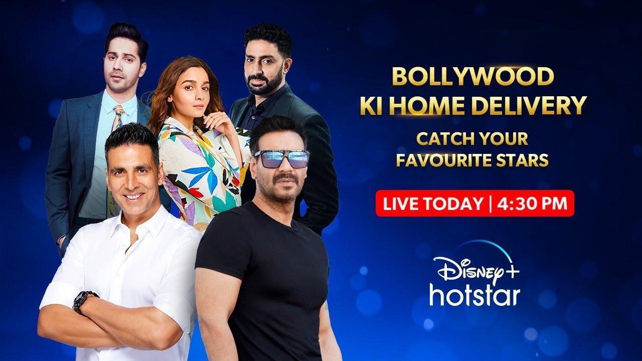 Disney+ Hotstar | Bollywood Ki Home Delivery Livestream