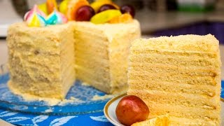 """Очень вкусный торт """"Весенняя нежность"""" - Я - ТОРТодел!"""