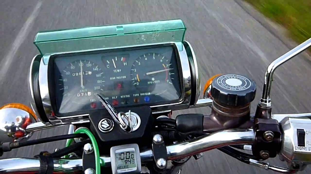 Suzuki Rotary Motorcycle