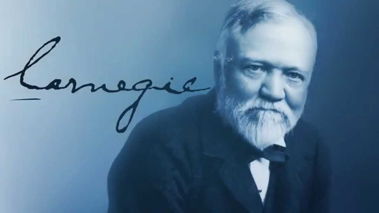"the legacy of andrew carnegie 7 to celebrate the opening — and heap praise on andrew carnegie,  ""i think  that this community embraces the carnegie legacy,"" walley said."