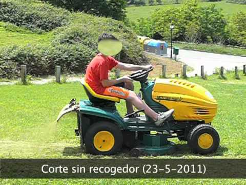Yardmachines by mtd briggs stratton twin ii 18 hp 46 - Tractor cortacesped mtd ...