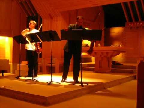 Miklos Rosza - Sonata for 2 violins