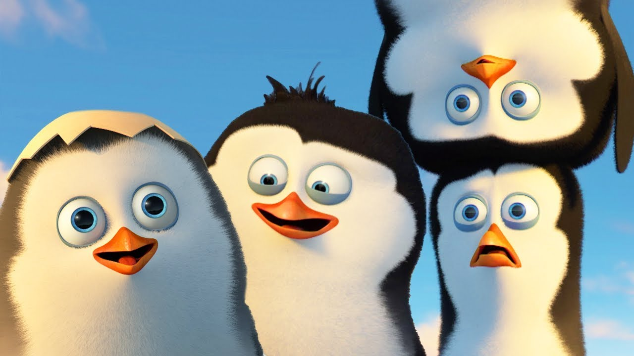 Download DreamWorks Madagascar | Best Penguins of Madagascar Scenes - Funny Action Moments | Kids Movies