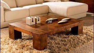 AMAZING coffee table ideas for living room