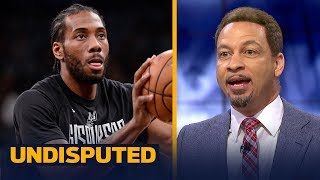 Chris Broussard on Kawhi Leonard's future with the Toronto Raptors | NBA | UNDISPUTED
