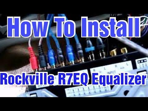 Installing A Rockville R7EQ