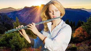 Heavenly Flute Instrumental - Relaxing Flute Background Music For Peace, Relax Mind Body \u0026 Soul, Zen