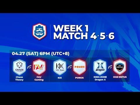 2019 CRL 亞洲賽區 S1 - 季賽第1週第2天