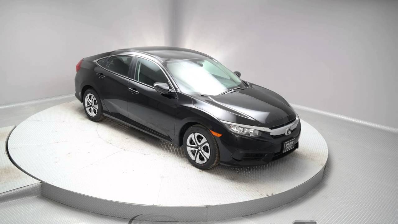 2016 Crystal Black Pearl Honda Civic Sedan G259