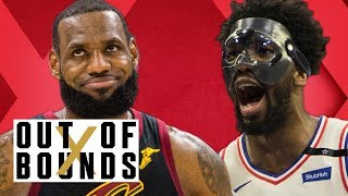 Joel Embiid Swagger Back, 76ers Avoid Elimination; LeBron James Sweeps Raptors | Out of Bounds