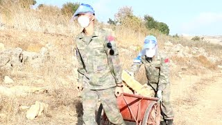 GLOBALink | Chinese peacekeeping engineers complete road drainage system in Lebanon