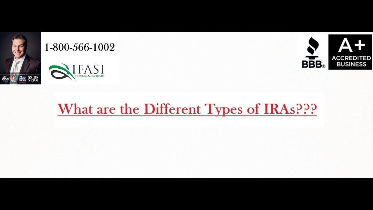 Using Fidelity Self Directed Ira Biggerpockets >> Different Types Of Iras What Are Different Types Of Iras