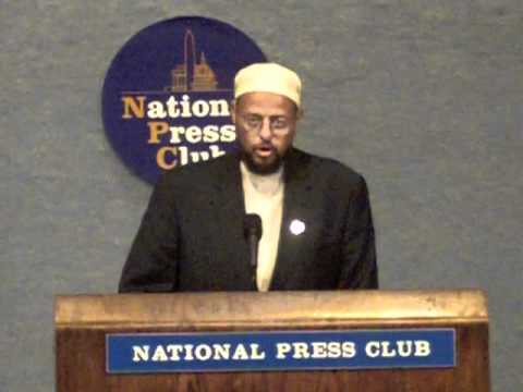 Press Conference: Coalition of African American Muslims - Imam Zaid Shair (1/8)