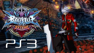 BlazBlue Continuum Shift Extend playthrough (PS3)