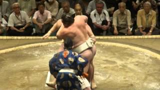 20120910 大相撲秋場所2日目 把瑠都vs碧山.