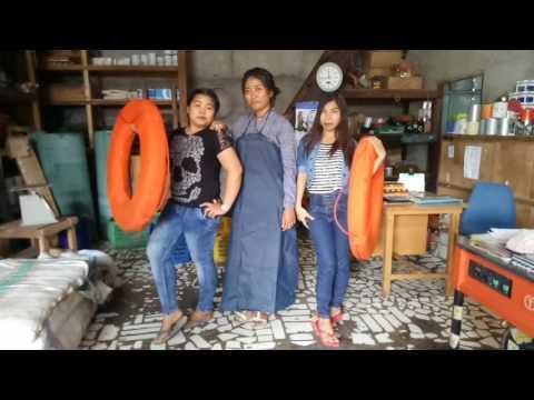 Hip hop papua-Turun naik poles dance kupang