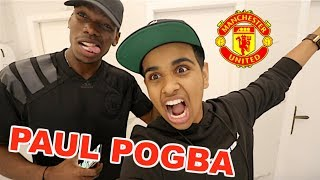 MANCHESTER UNITED IN MY HOUSE  !!!
