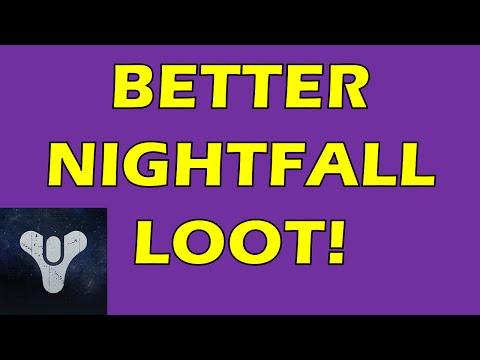 How to get what the minimum level is for weekly nightfall strike