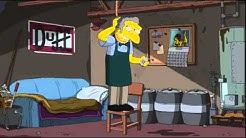 The Simpsons - Moe Attempts Suicide