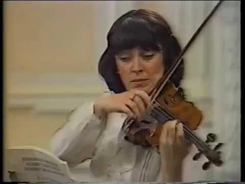 Nana Jashvili, Brahms - Schumann - Dietrich F-A-E Sonate, c-moll