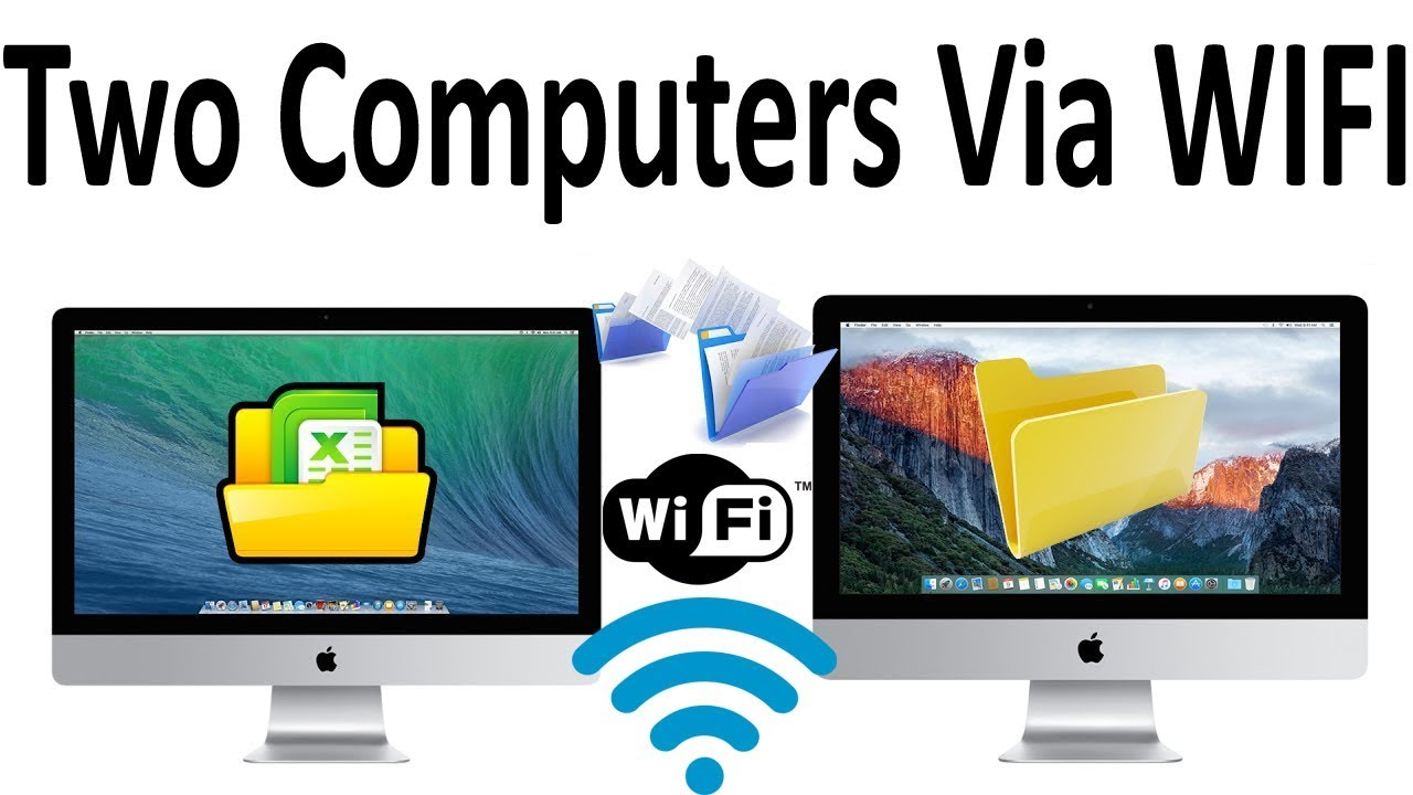 How To Connect Two Computers Via Wifi    Wireless In