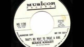Marie Knight  That
