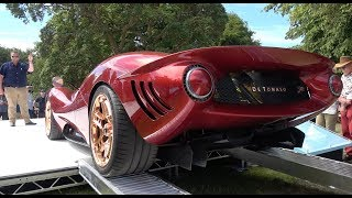 De Tomaso P72 Launch At GoodWood FOS - First Drive Of Stand