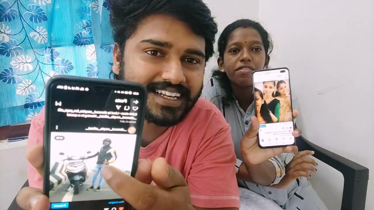 ആനൂസ് എന്നെ കയ്യോടെ പൊക്കി..... 😕   What's in Our Phone Video   Diamond Couples