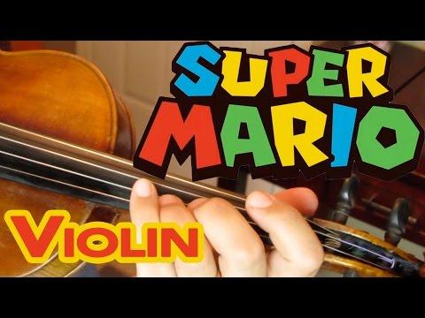 Como Tocar Violin 'Super Mario Bros' (Theme/Tema)