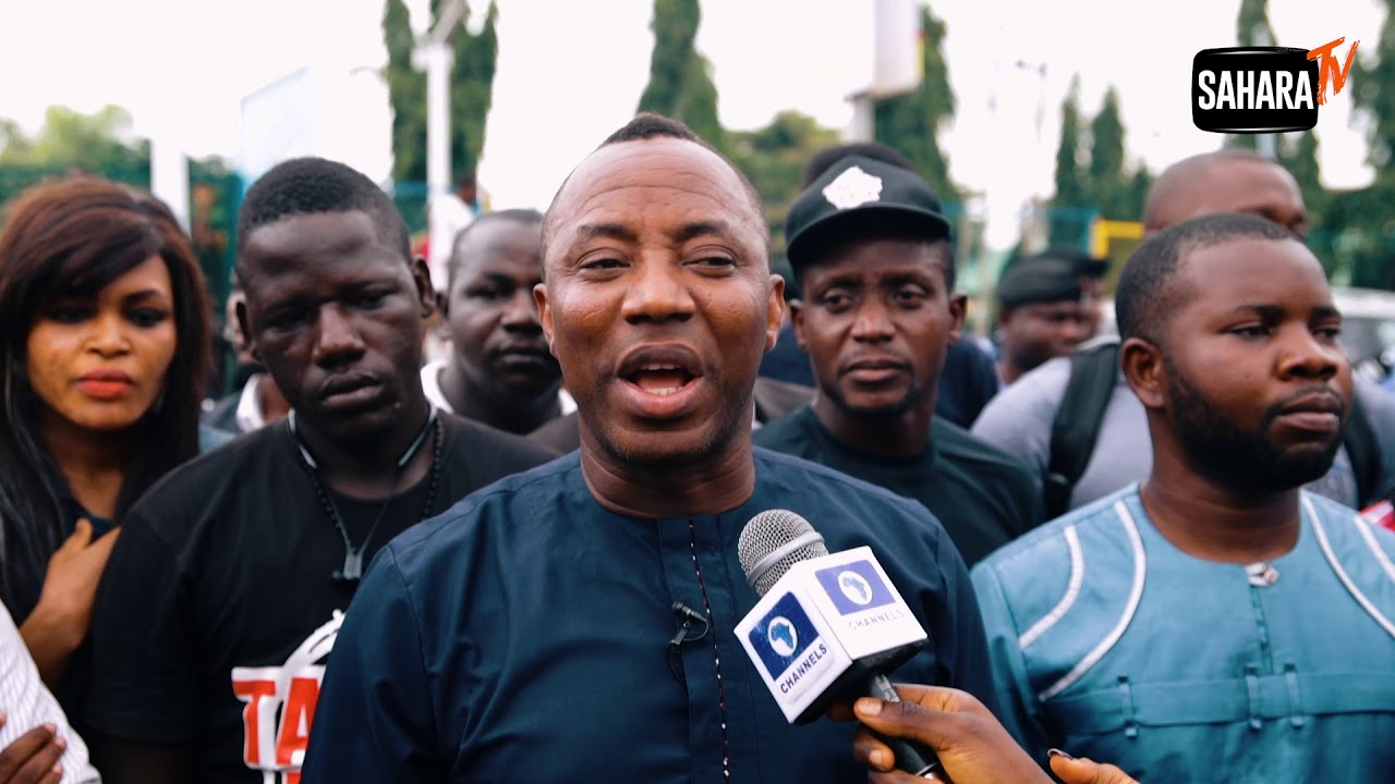 "'If Buhari Does Not Leave Nigeria Alone, Nigerians Will leave Buhari In 2019""- Sowore"