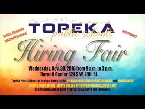 Topeka Public Schools Hiring Fair