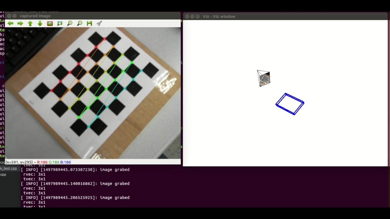 OpenCV: Pose Estimation (PnP problem)
