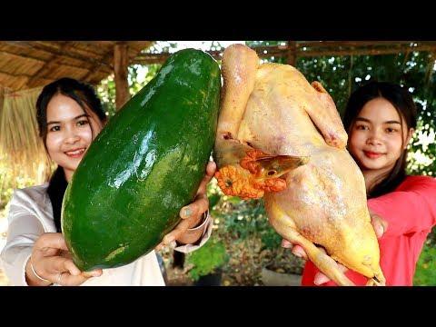 Duck With Papaya