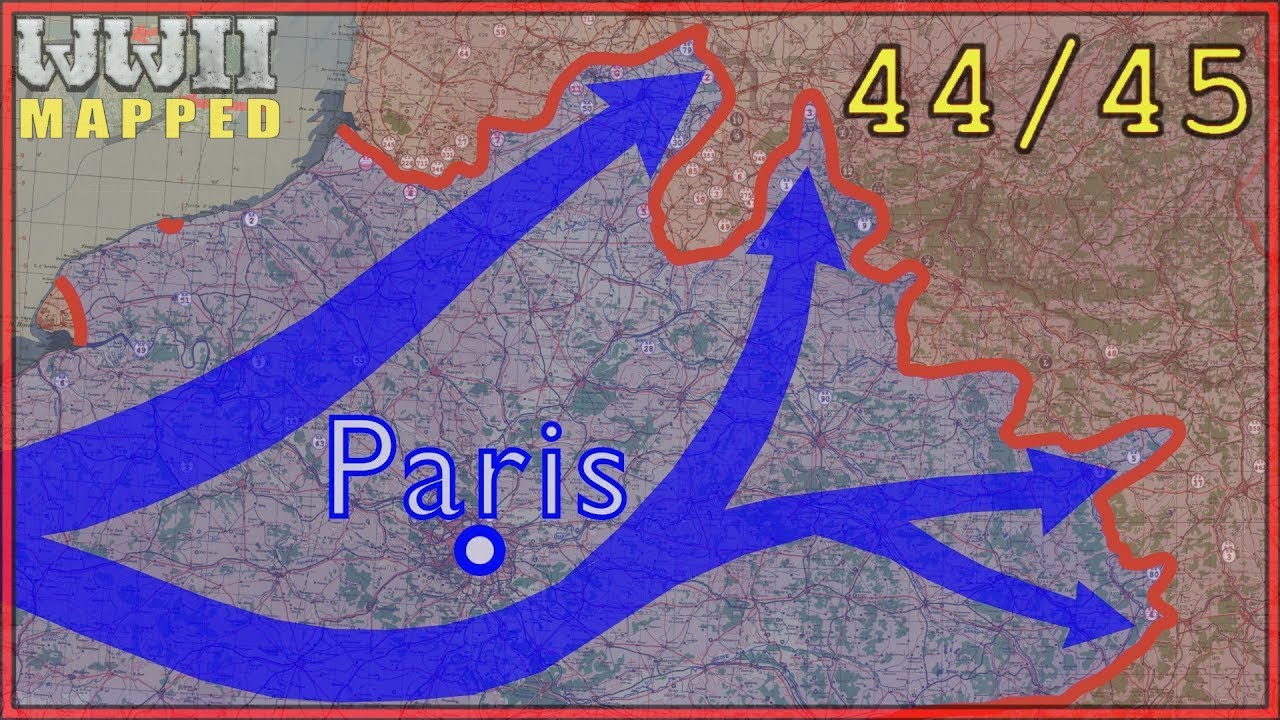 Download Western Front 1944/1945. Real Time Animated map