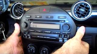How to Mazda Miata MX5 Bose Car Stereo Removal 2006 - 2013 replace
