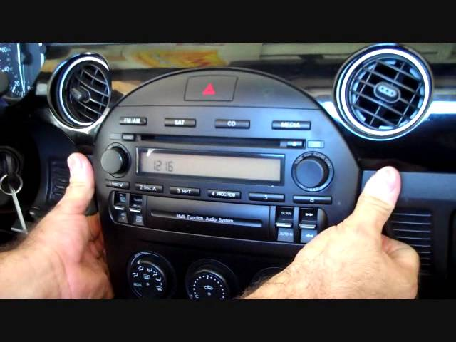 sddefault how to mazda miata mx5 bose car stereo removal 2006 2013 replace