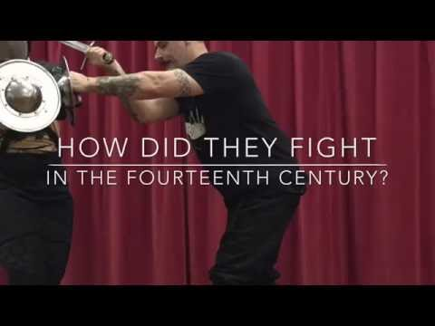 How did they fight in the 14th Century? I.33 sword and buckler.