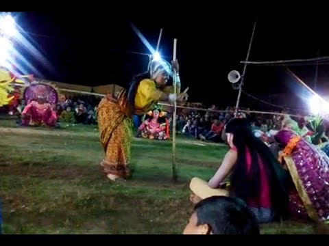 PURULIA CHHOU NACH COMEDY PART by hemsing...