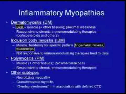Inflammatory Myopathies - Steven A Greenberg
