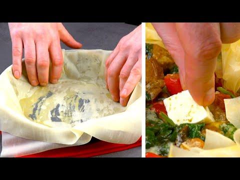 empilez-10-fois-la-pâte-fine-dans-la-poêle-et-remplissez-la-avec-ça.-spectaculaire-!