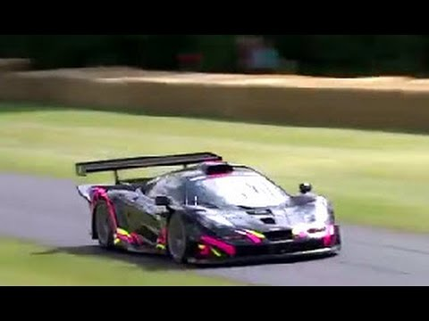 Kenny Brack, McLaren F1 GTR Long-tail, Festival of Speed shoot-out run!