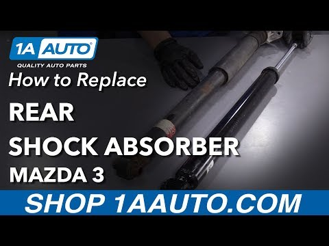 How to Replace Rear Shock 04-09 Mazda 3